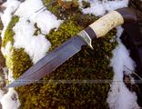 Нож Лесник дамаск